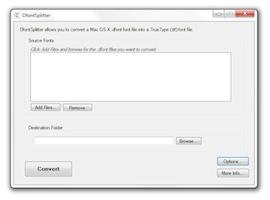 DfontSplitter for Windows